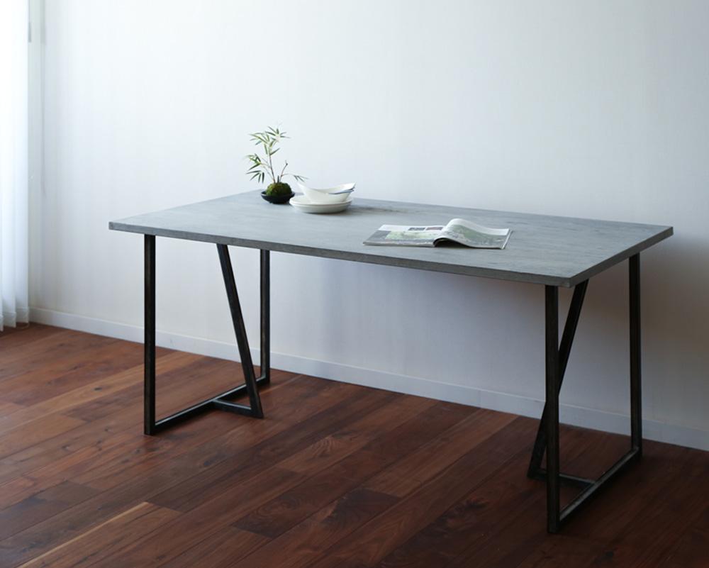 モールテックスによる、 様々な形状のモルタル調の家具製作が可能です